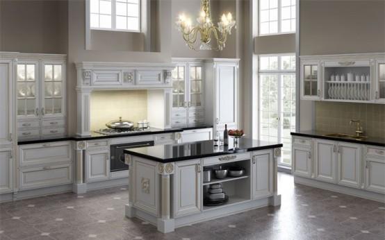 Home Arsitektur: Classic Kitchen Desig