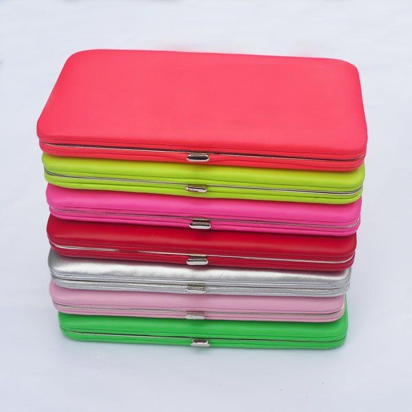 Colourful flat wallet clutches. Nice!! | Wallets for women, Clutch .