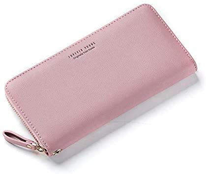 Amazon.com: WEICHEN Wristband Women Long Clutch Wallet Large .