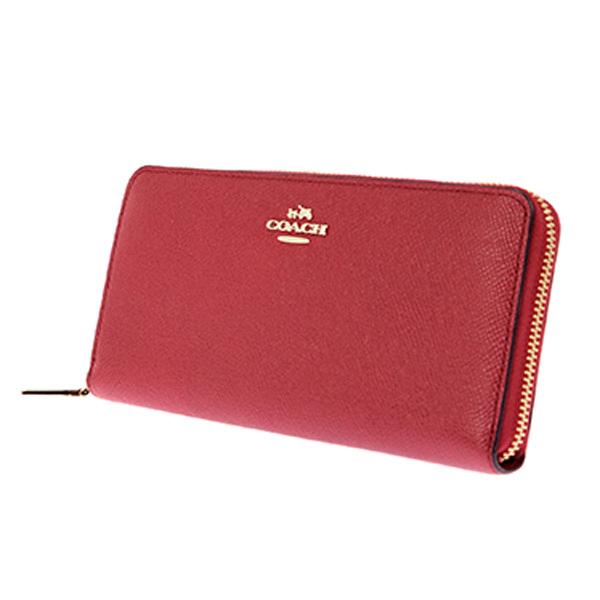 rikomendofuasshonkan: Coach COACH round fastener long wallet .