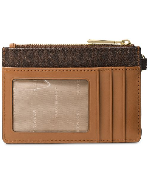 Michael Kors Signature Small Coin Purse & Reviews - Handbags .