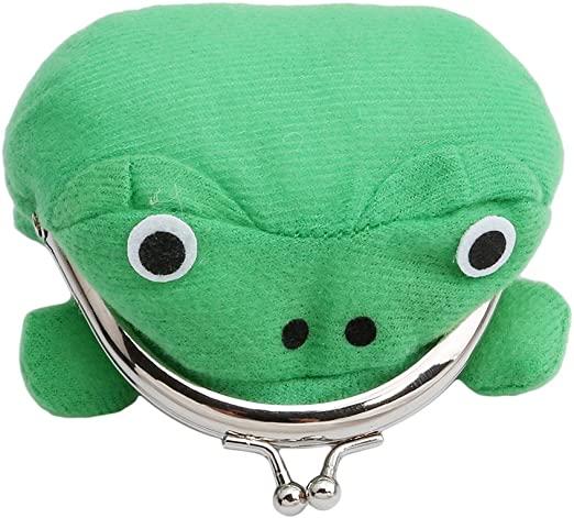 Amazon.com: Naruto Cute Green Frog Coin Bag Wallet Purse Cosplay .
