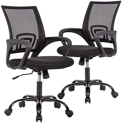 Amazon.com: Office Chair Desk Chair Mesh Computer Chair Back .