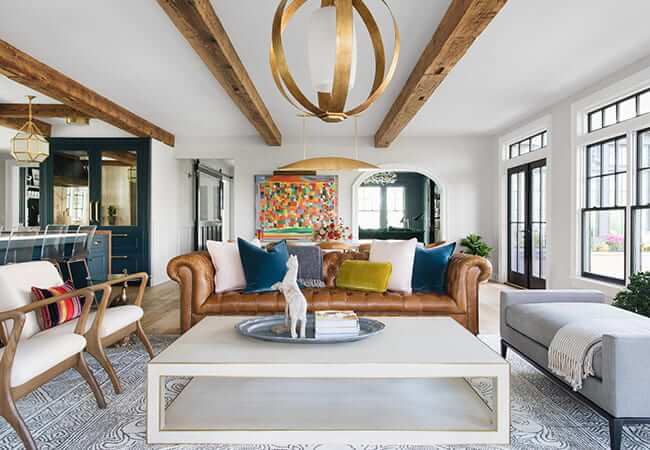 5 Eye-Catching Contemporary Living Room Ideas | Pel