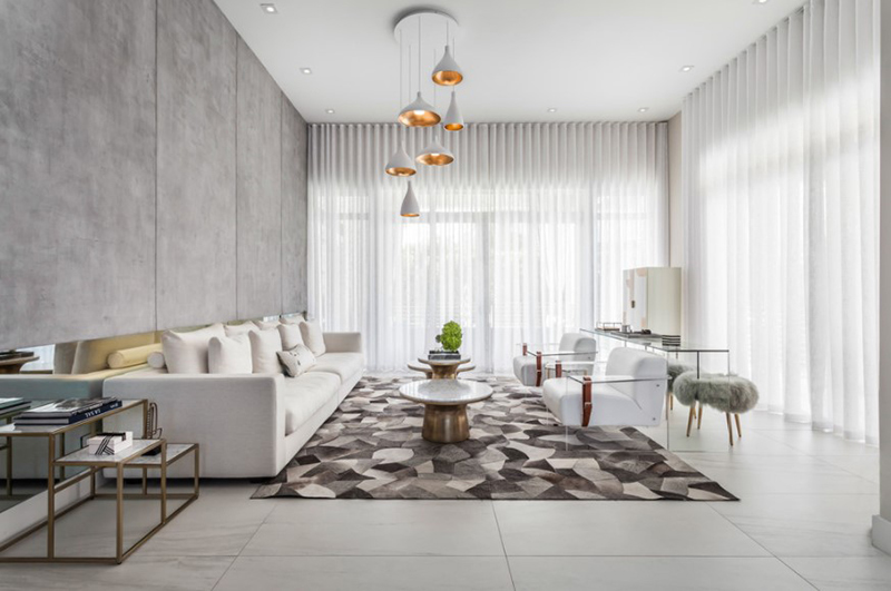 20 Gorgeous Gray and White Contemporary Living Room Designs | Home .