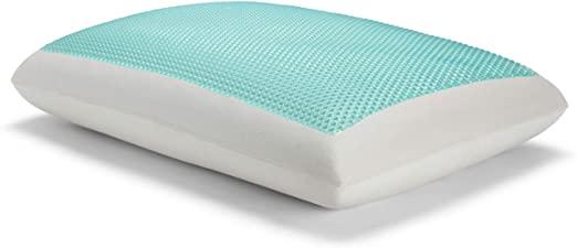 Amazon.com: Sealy Essentials Memory Foam Gel Cooling Pillows .