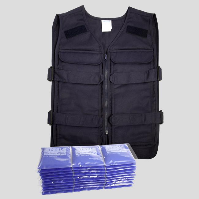 5 Pocket Vest - Starter Cooling Kit - Steele Cooling Ves