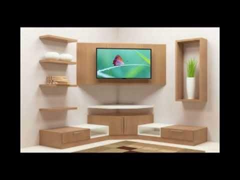 MODERN TV SHOWCASE DESIGN // TV CABINET DESIGN - YouTube | Tv unit .