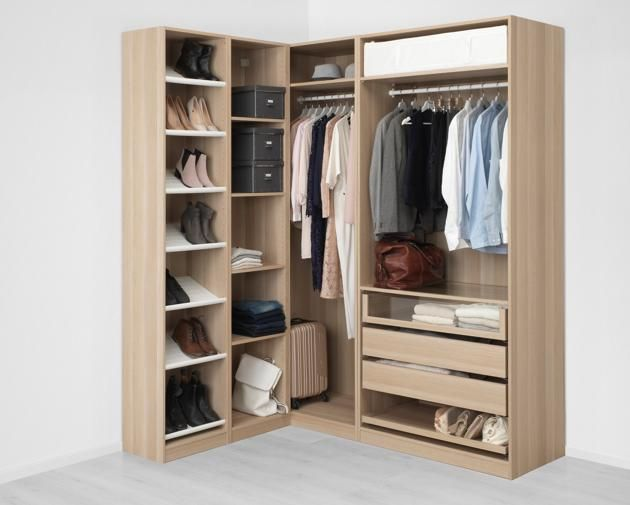 8 Creative Corner Wardrobe Design Ideas | Corner wardrobe, Pax .