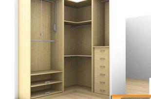 Idea by Hanadi on Bedroom designs | Corner wardro