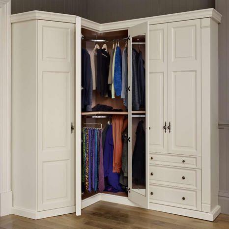 Corner Wardrobe (Görüntüler ile) | Dolaplar, Yatak odası iç mekan .