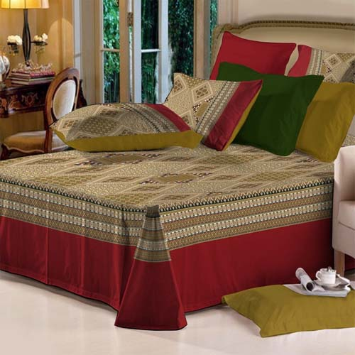 Bed Sheets,Bedding Sets,Home Textiles,Export Quality Fast Colors .