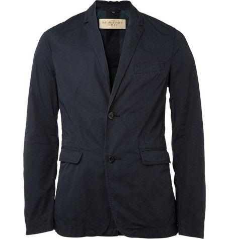 Burberry Brit Unstructured Cotton Blazer | Blazers for men, Mens .