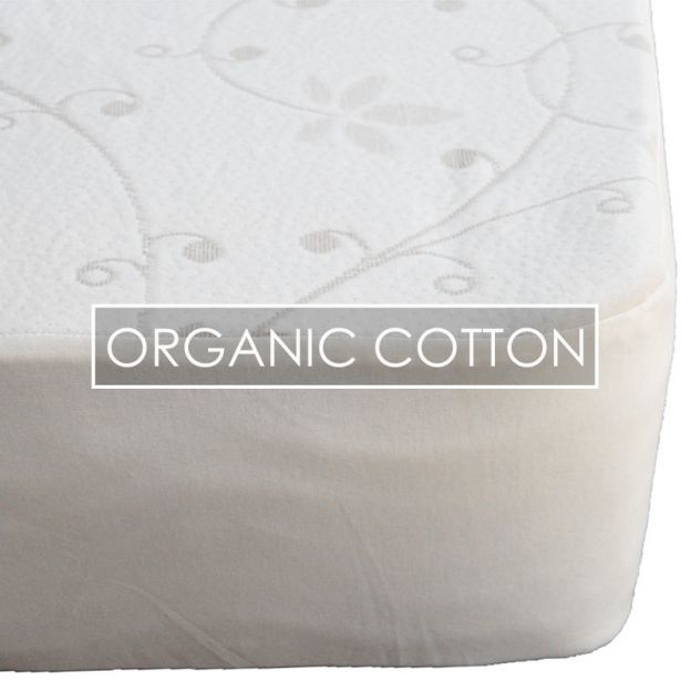Sweet Dreams Organic Cotton Mattress Protector | Haiku Desig