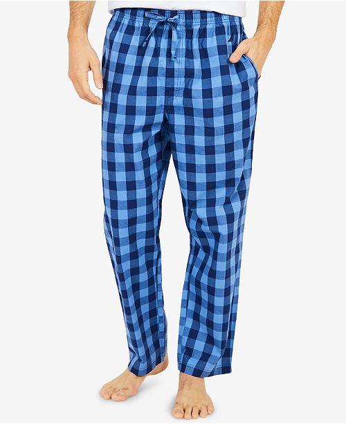 Nautica Men's Buffalo Plaid Cotton Pajama Pants & Reviews .