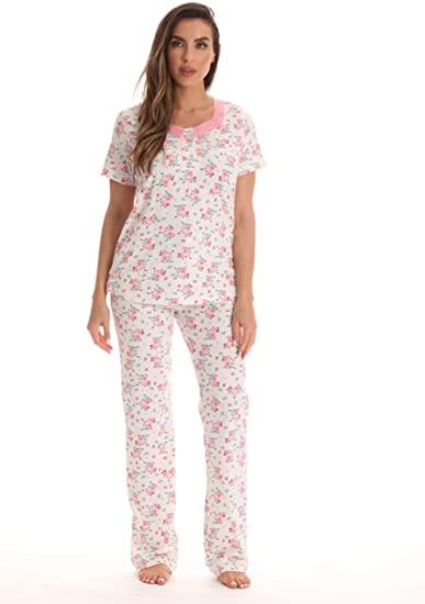 Dreamcrest 100% Cotton Pajama Pant Set for Women at Amazon Women's .