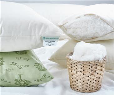 Organic Cotton Sleep Pillows | Free Shipping US Made 100% Certifi