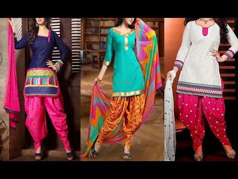 Cotton Salwar Kameez Designs 2016 - 2017 - YouTu