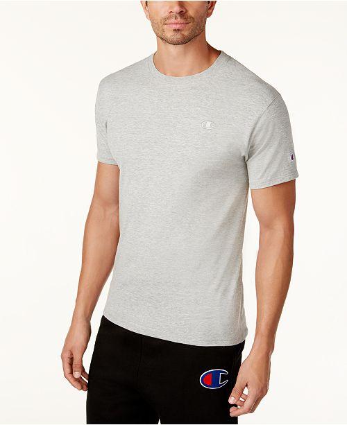 Champion Men's Cotton Jersey T-Shirt & Reviews - T-Shirts - Men .