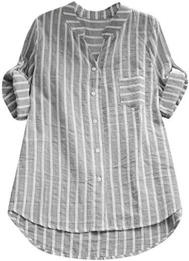 Amazon.com: Summer/Autumn Tops Shirts,Women Casual Loose T-Shirt .