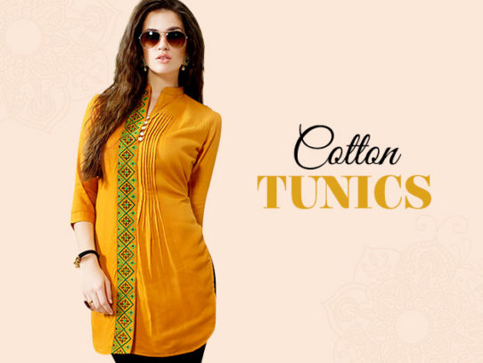 Ultimate styles of Cotton tunics and kurtas for summe