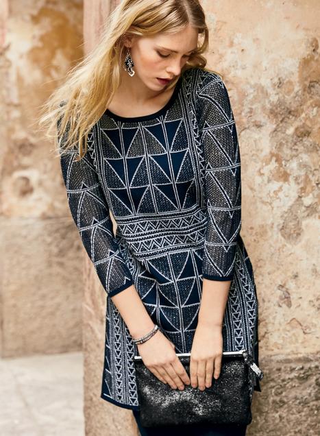 Delano Pima Cotton Tunics, Designer Cotton Tunics, Boho Tunic Tops .