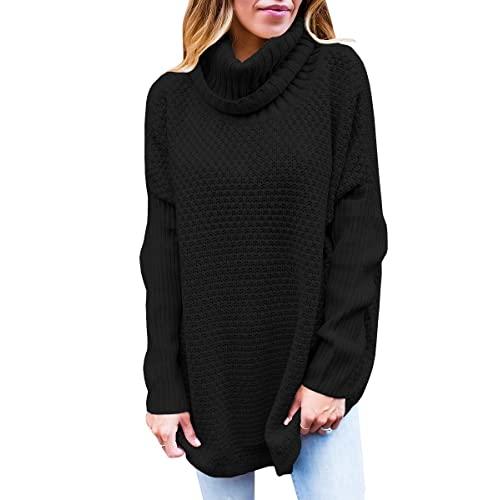 Black Cowl Neck Sweater: Amazon.c