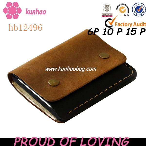 Hand Crafted Genuine Leather Wallets Hb12496 - Buy Hand Crafted .
