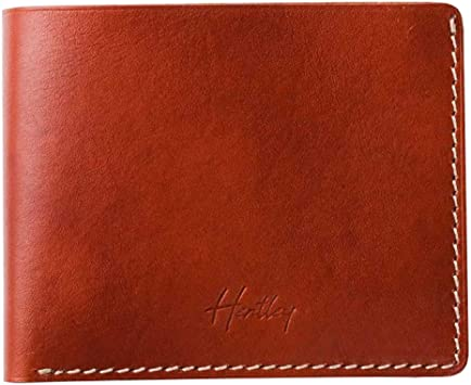Amazon.com: Slim Wallet for Men by Hentley - Hand-Crafted Italian .