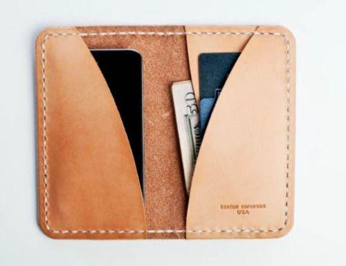 Kenton Sorenson Wallets | Leather phone wallet, Leather gifts .
