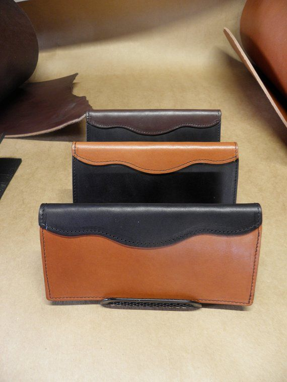 These hand-crafted wallets are made from single-thickness American .