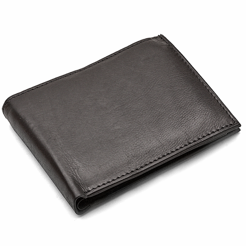 Men's Bifold Credit Card Wallet with Removable Credit Card/ID Slee