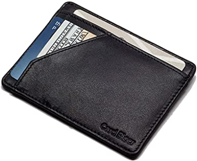 Amazon.com: Card Blocr Minimalist Wallet Slim RFID Blocking Credit .