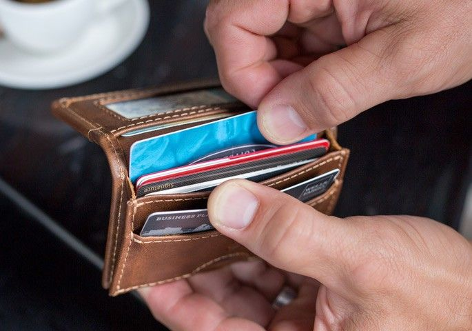 Camden Credit Card Wallet | Wallet men, Leather credit card wallet .