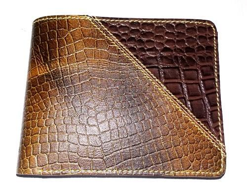 Crocodile Leather Wallet at Rs 250/piece | Crocodile Wallet | ID .