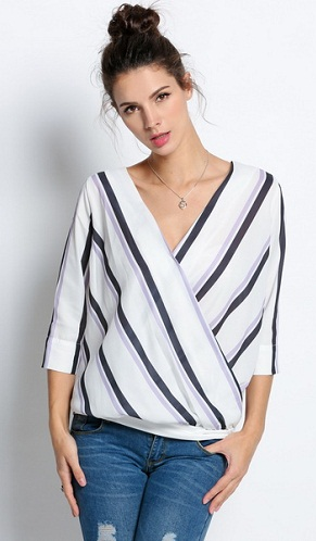 9 Latest and Trendy Crossover Tops for Women | Styles At LI