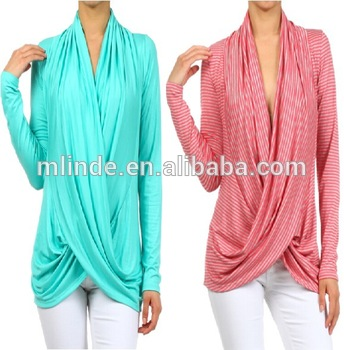 Cross Over Tops Wholesale Plus Size Women Crossover Sweater - Buy .