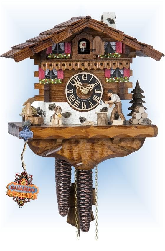 Wood Chopper 149 Cuckoo Clock | by Hones | On Sa