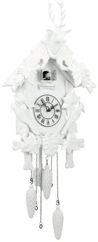 Amazon.com: Torre & Tagus 1651-100000 Village Cuckoo Clock, White .