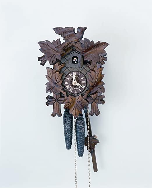 Amazon.com: Schneider Black Forest 9 Inch Cuckoo Clock: Home & Kitch