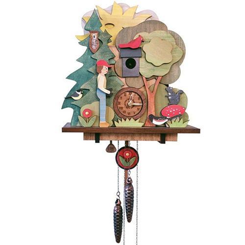 Birdwatcher Cuckoo Clock - Watch the Animatio