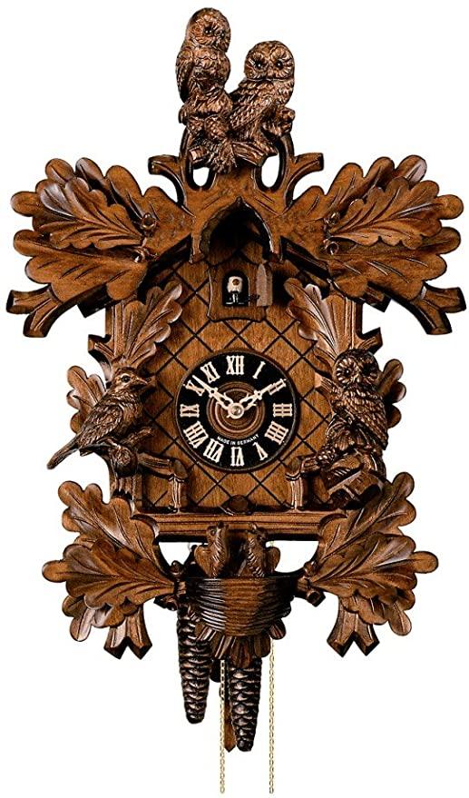 Amazon.com: Hönes Cuckoo Clock Owls HO 179/4nu: Home & Kitch