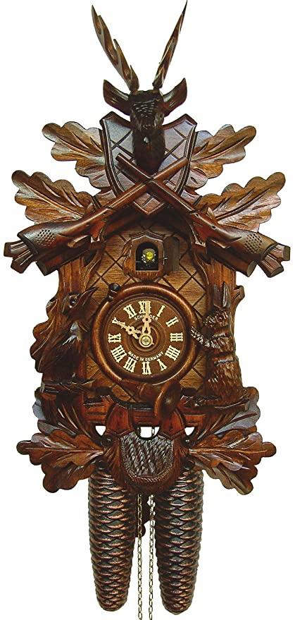 Amazon.com: Anton Schneider Cuckoo Clock Hunting Clock: Home & Kitch