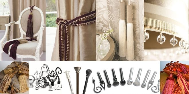 Choosing the Right Accessories For Your Curtains | Lushes Curtains .