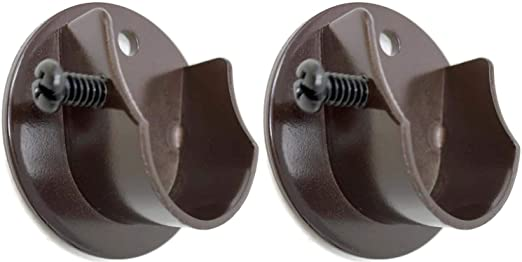 "Amazon.com: Urbanest 5/8"" to 3/4"" Inside Mount Curtain Rod Bracket ."