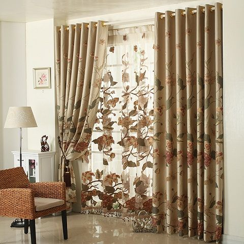Top 9 Curtain Designs for Drawing Room | Curtains living room .