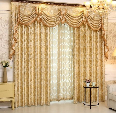 Top 9 Curtain Designs for Drawing Room (With images) | Living room .