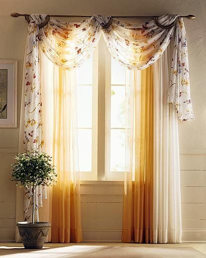 Beautiful Living Room Curtain Ideas (With images) | Curtains .