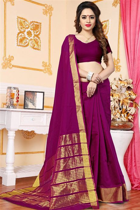 Plain Simple Daily Wear Sarees Online Saree Supplier In Surat And .