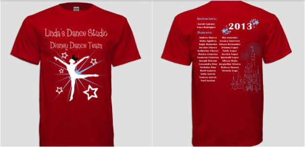 T-Shirts - Linda's Dance Stud